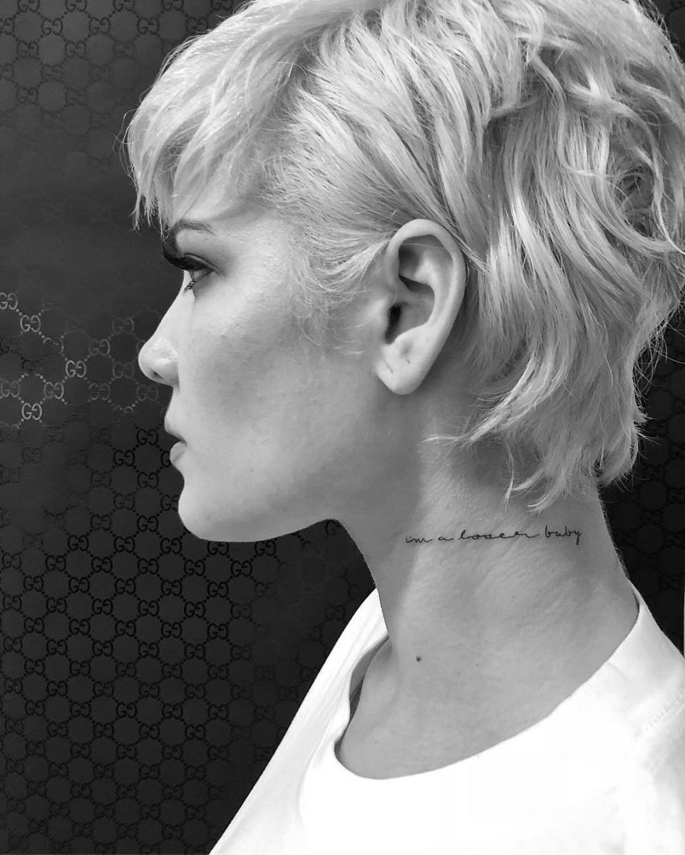 Why Neck Tattoos Are On the Rise Among the Fashion Set - Fashionista