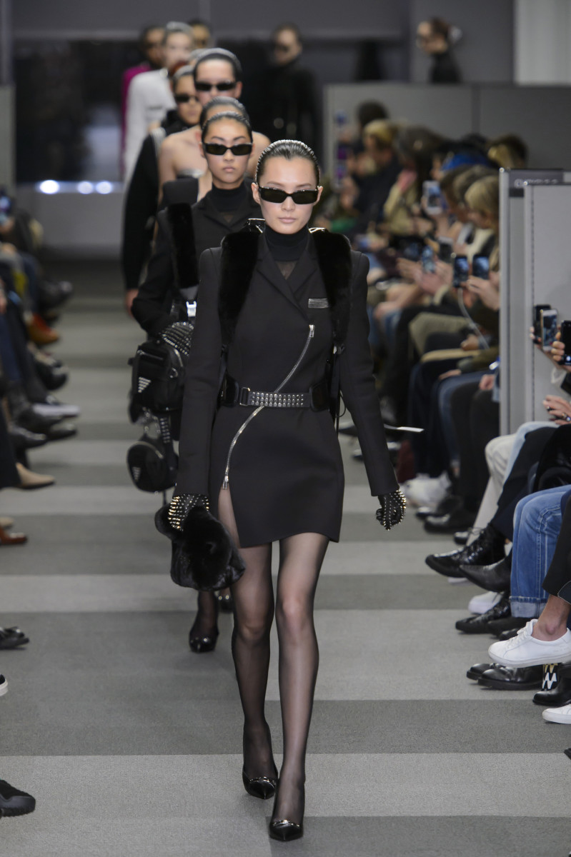 c37a79964a7 Alexander Wang Proves That He Means Business With His Fall 2018 ...