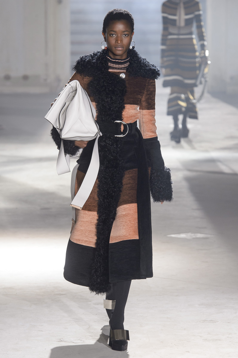 A look from the fall 2018 Proenza Schouler collection. Photo: Imaxtree