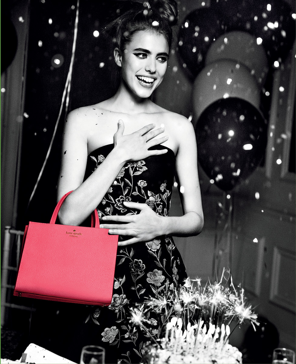 Margaret Qualley for Kate Spade New York. Photo: Inez & Vinoodh for Kate Spade New York
