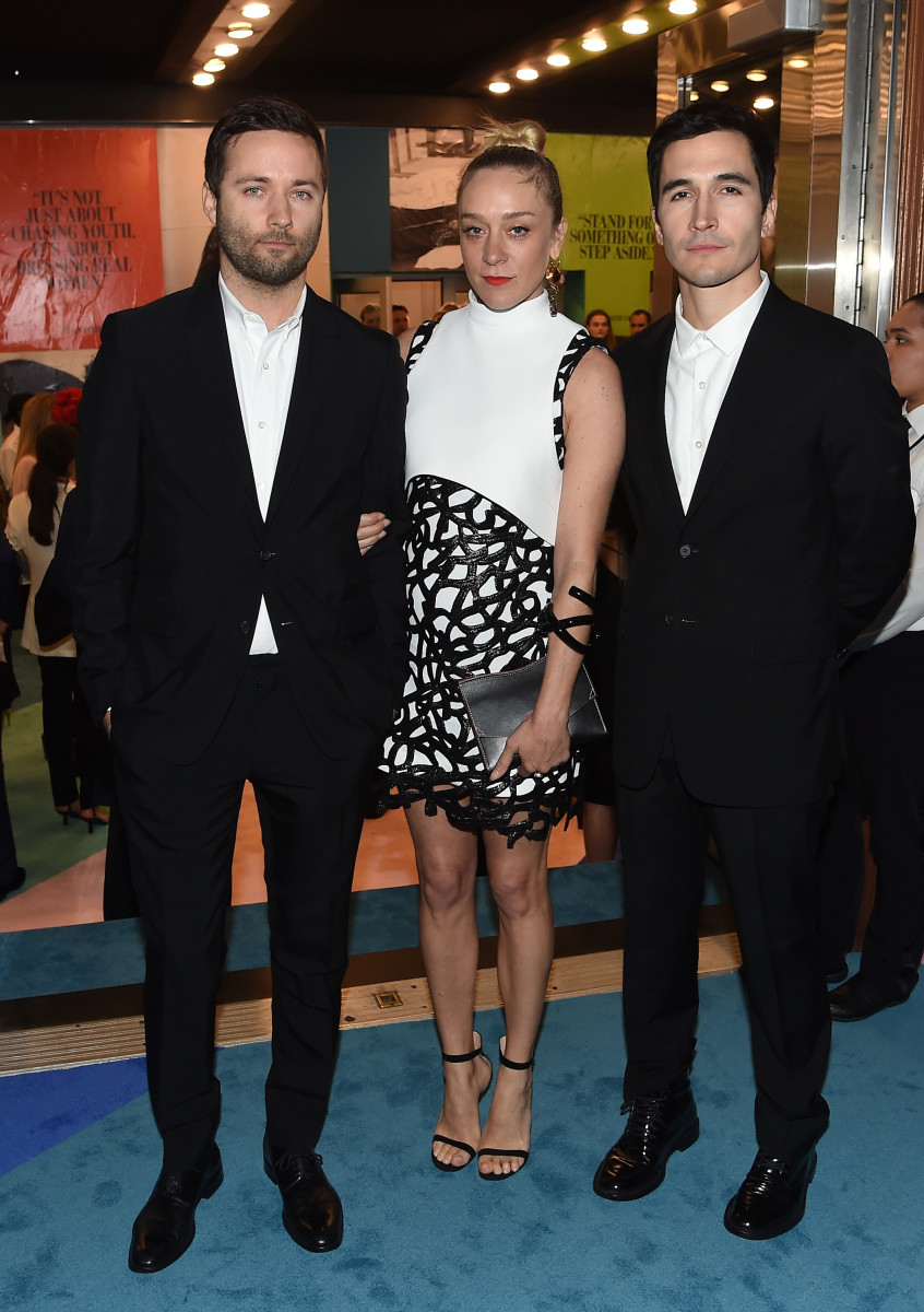McCollough, Chloë Sevigny and Hernandez at the 2017 CFDA Awards. Nicholas Hunt/Getty Images