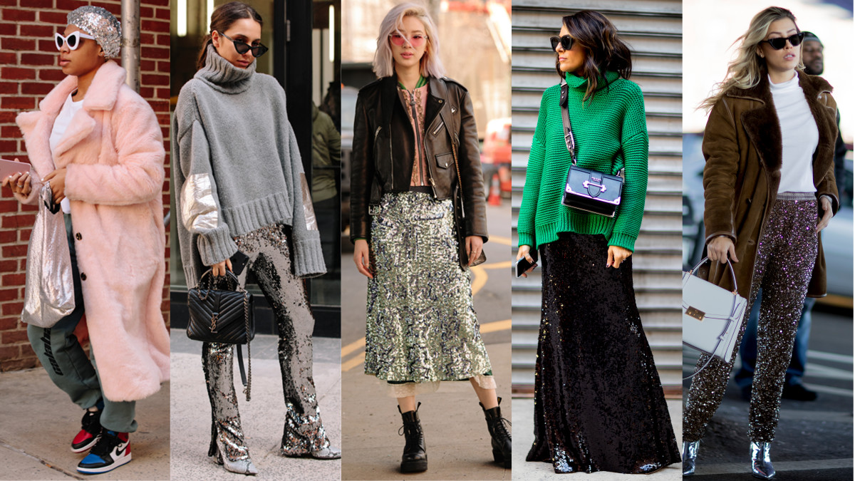 Fall nyfw street style advise dress in winter in 2019
