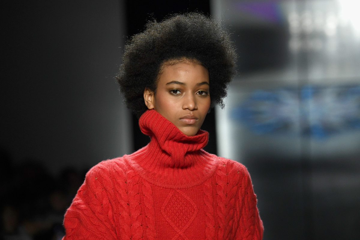 A look from Prabal Gurung's Fall 2018 show. Photo: Frazer Harrison/Getty Images for New York Fashion Week: The Shows