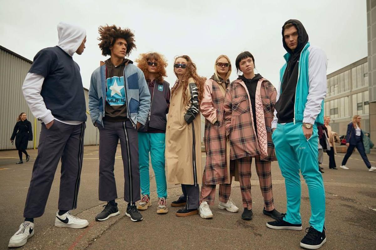Danish brand Muf10 at Copenhagen Fashion Week in February. Photo: @cphfw/Instagram