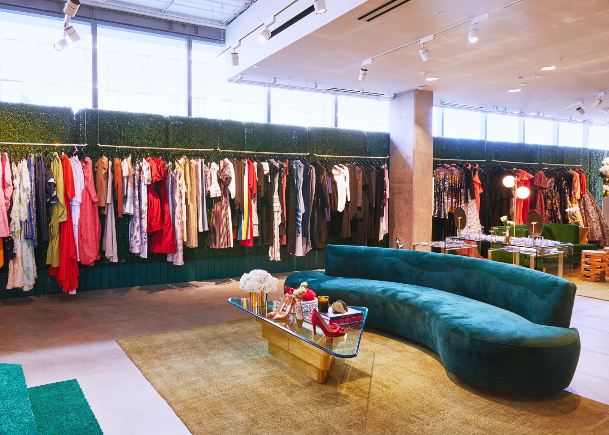 Inside the Runway to Red Carpet showroom. Photo: Courtesy