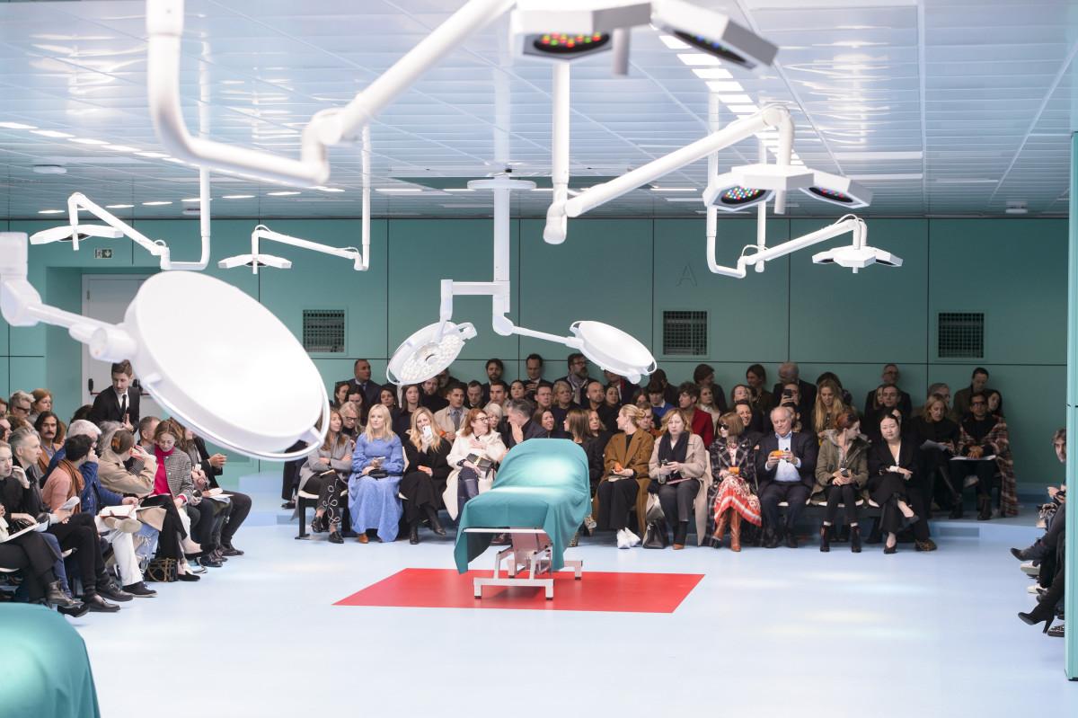 Alessandro Michele's lab. photo: Imaxtree