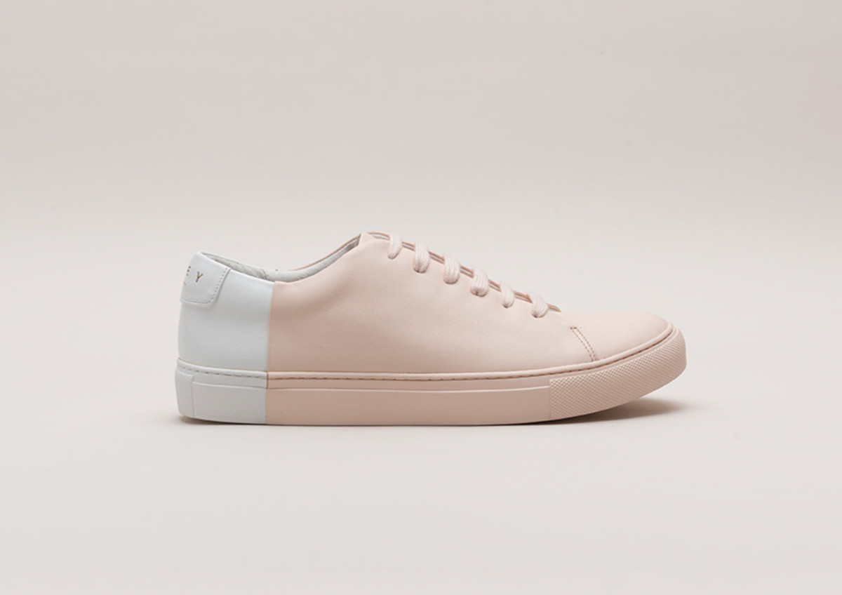 Two-tone low sneaker, $359, available at THEY New York.