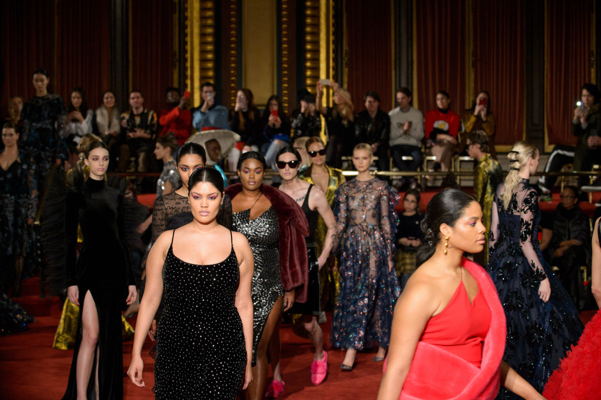 Racial Diversity Improved Slightly At NYFW, But Plus-Size Representation Fell photo