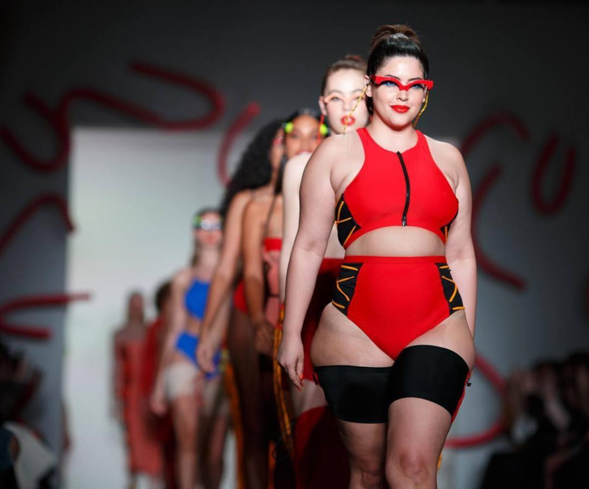 Chromat's Fall 2018 runway show at NYFW. Photo: @chromat/Instagram