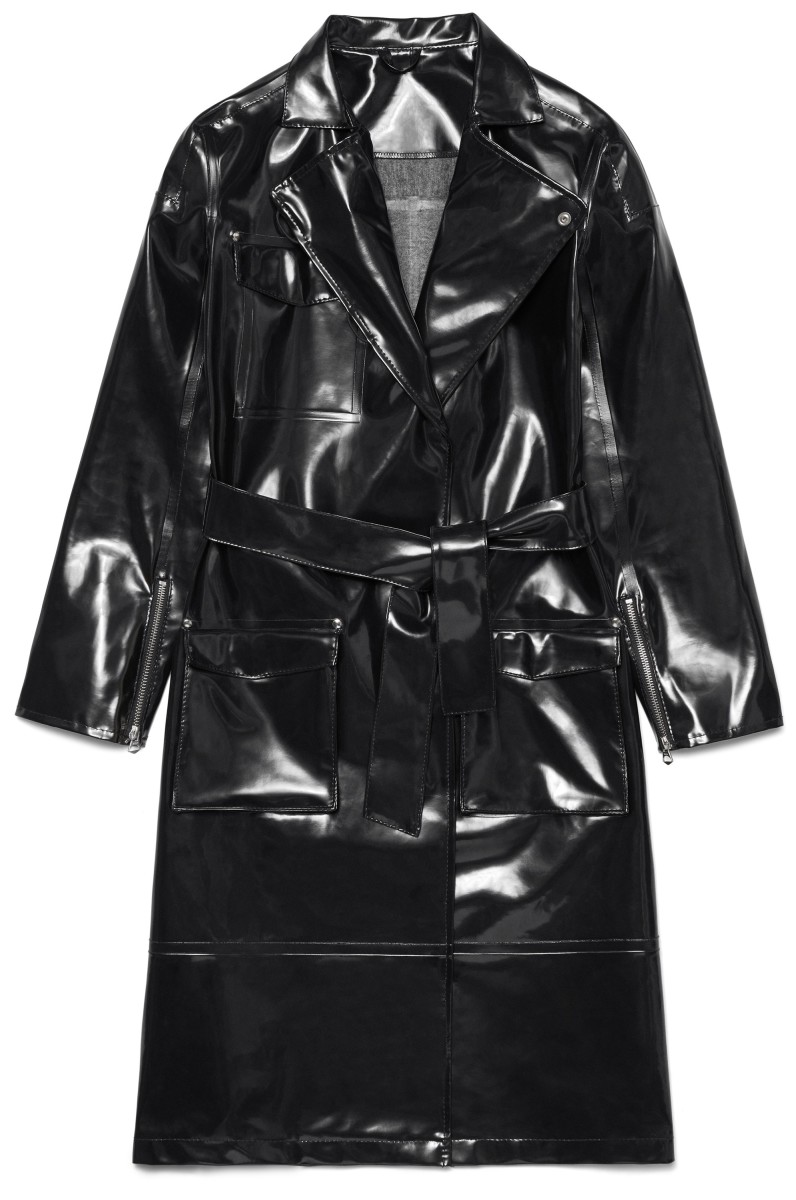 Lund Opal Black Trenchcoat, $459, available at Stutterheim.