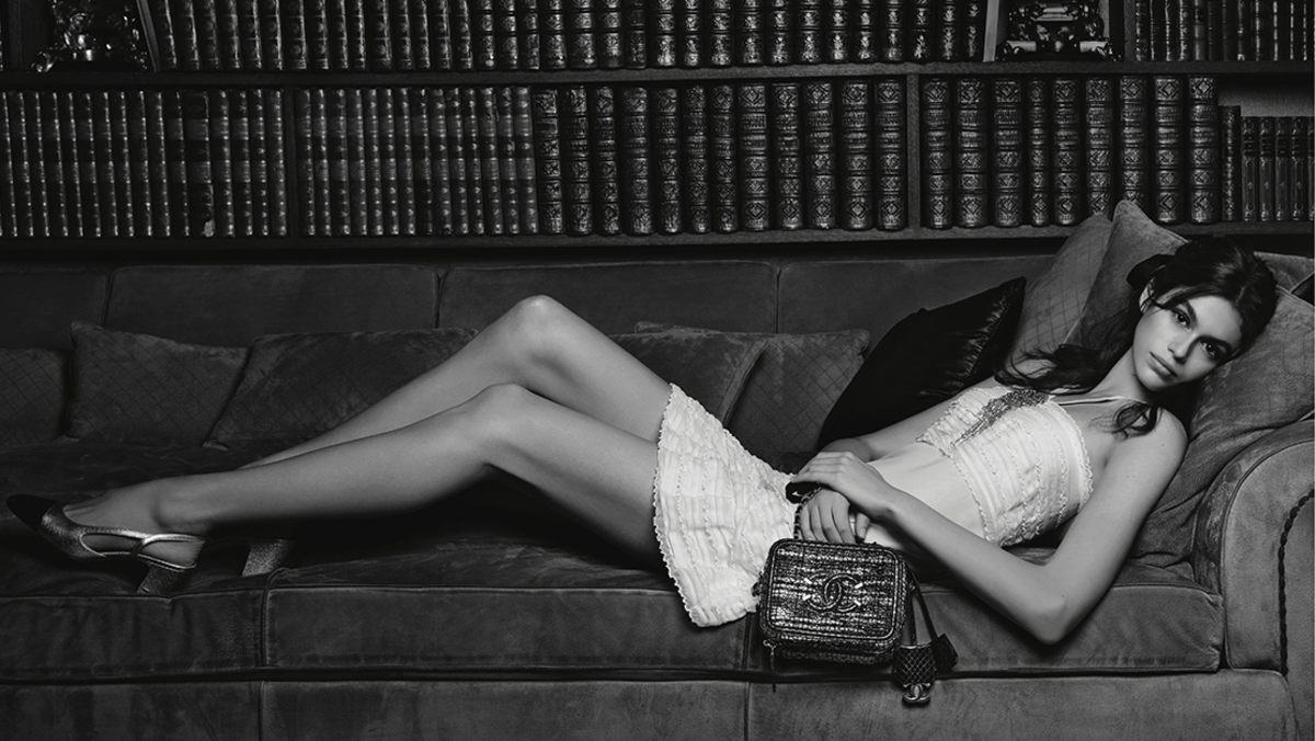 Kaia Gerber S First Chanel Campaign Is Here Fashionista