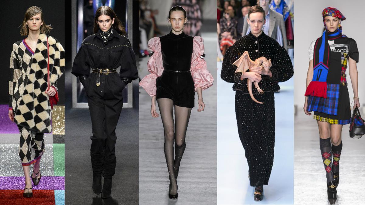 Marco de Vincenzo, Alberta Ferretti,Philosophy di Lorenzo Serafini, Gucci, Versace. Photos: Imaxtree