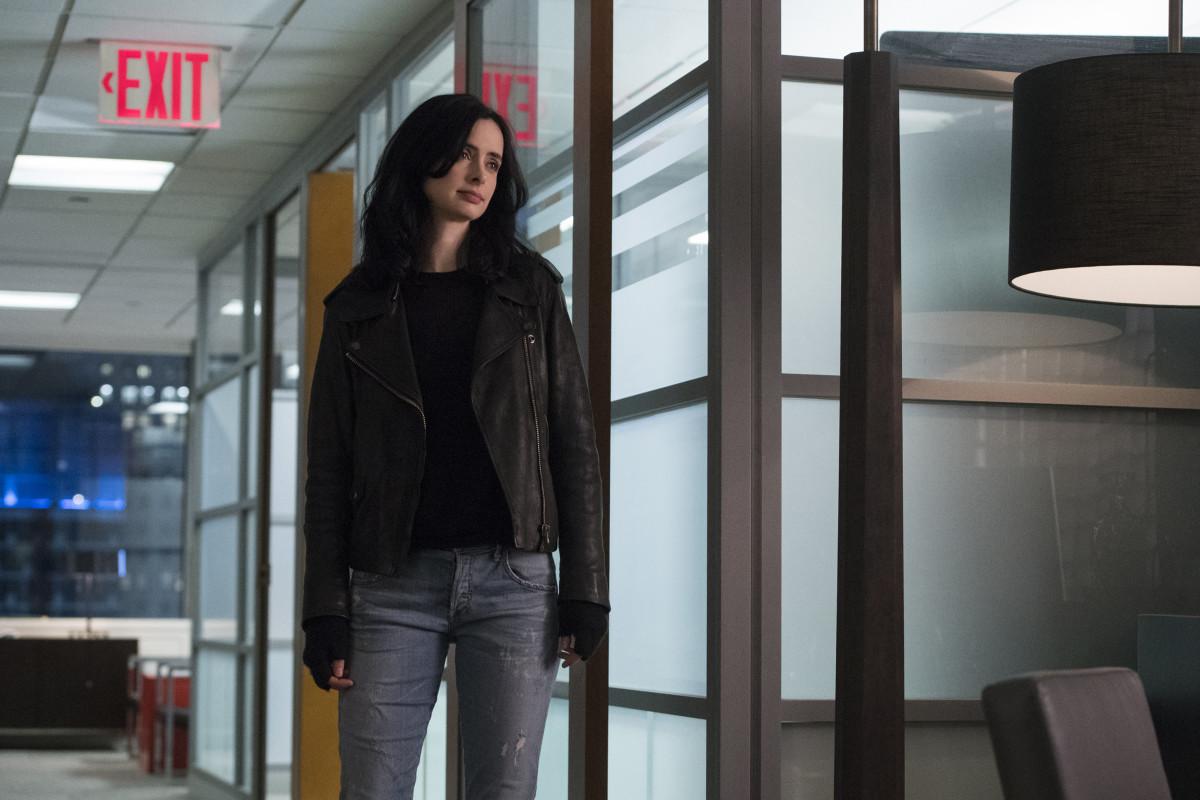 Jessica, not taking off her jacket . Photo:David Giesbrecht/Netflix