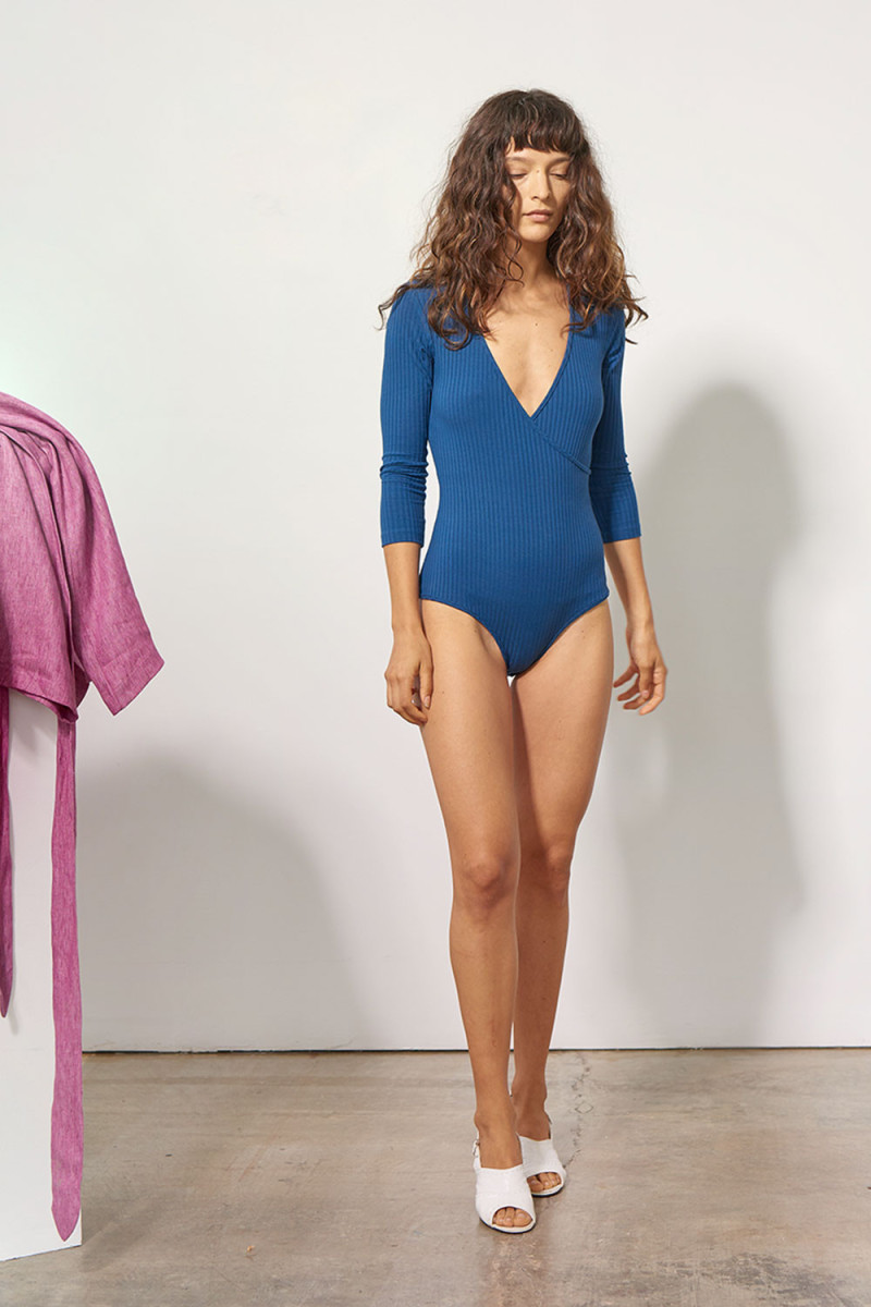 Mara Hoffman Kaia Bodysuit, $195, available at Mara Hoffman.