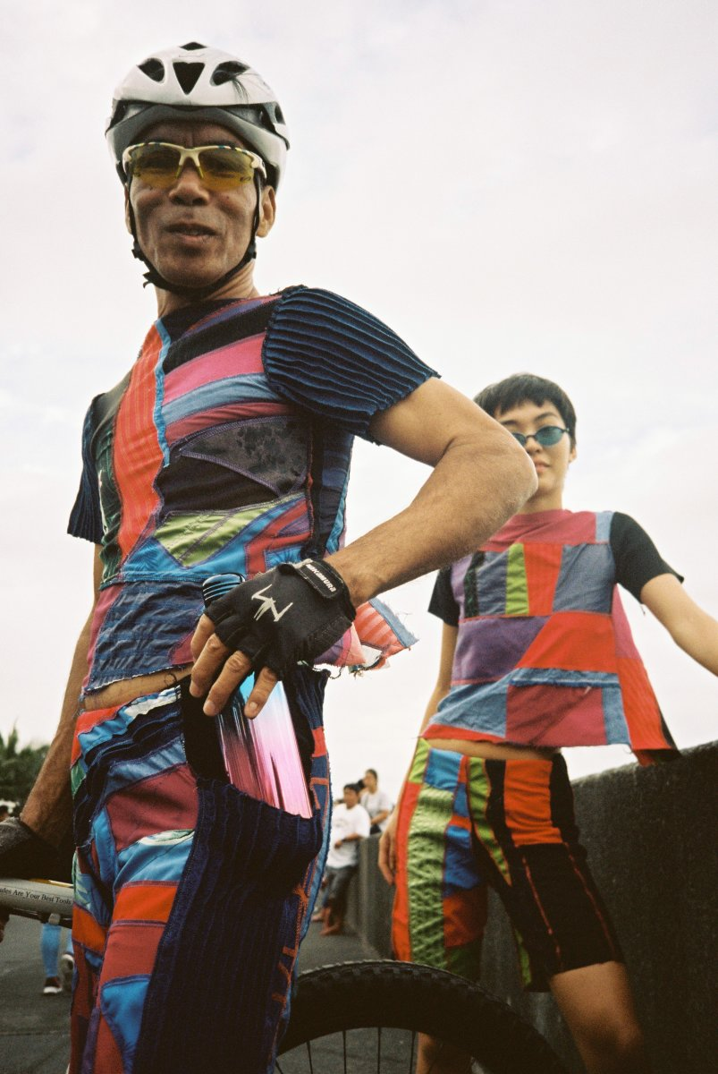 Toqa gear made from fabric scraps. Photo: Aiala Rickard/Toqa