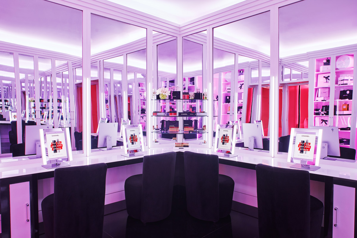 Inside Chanel Beauty House. Photo: Chanel