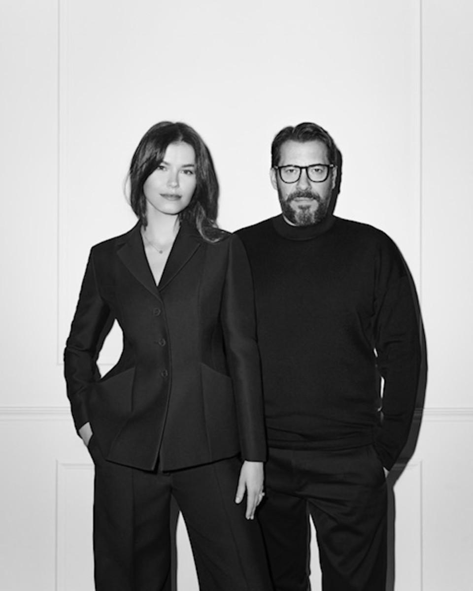 Michaela Seewald and Fabrice Biundo. Photo: Courtesy of Condé Nast International