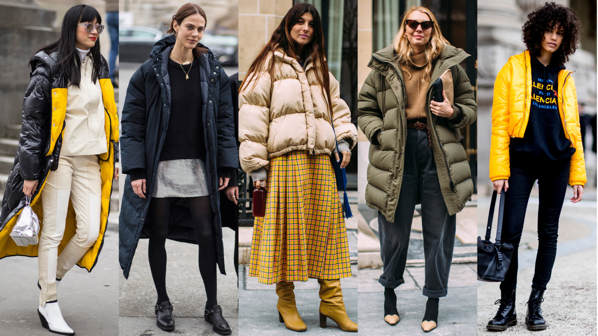 Puffers Were A Street Style Essential On Day 3 Of Paris