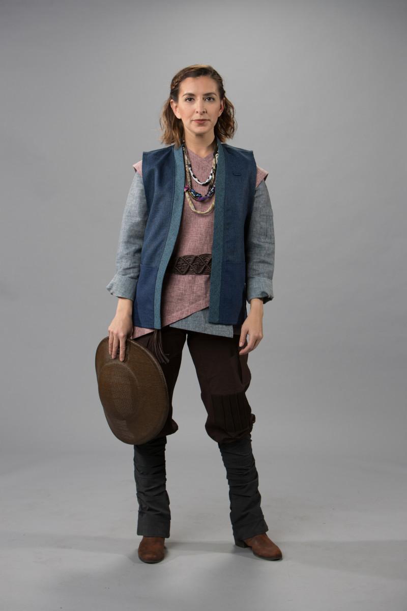 """Star Wars: Galaxy's Edge"" villager costume. Photo: Courtesy of Disneyland"