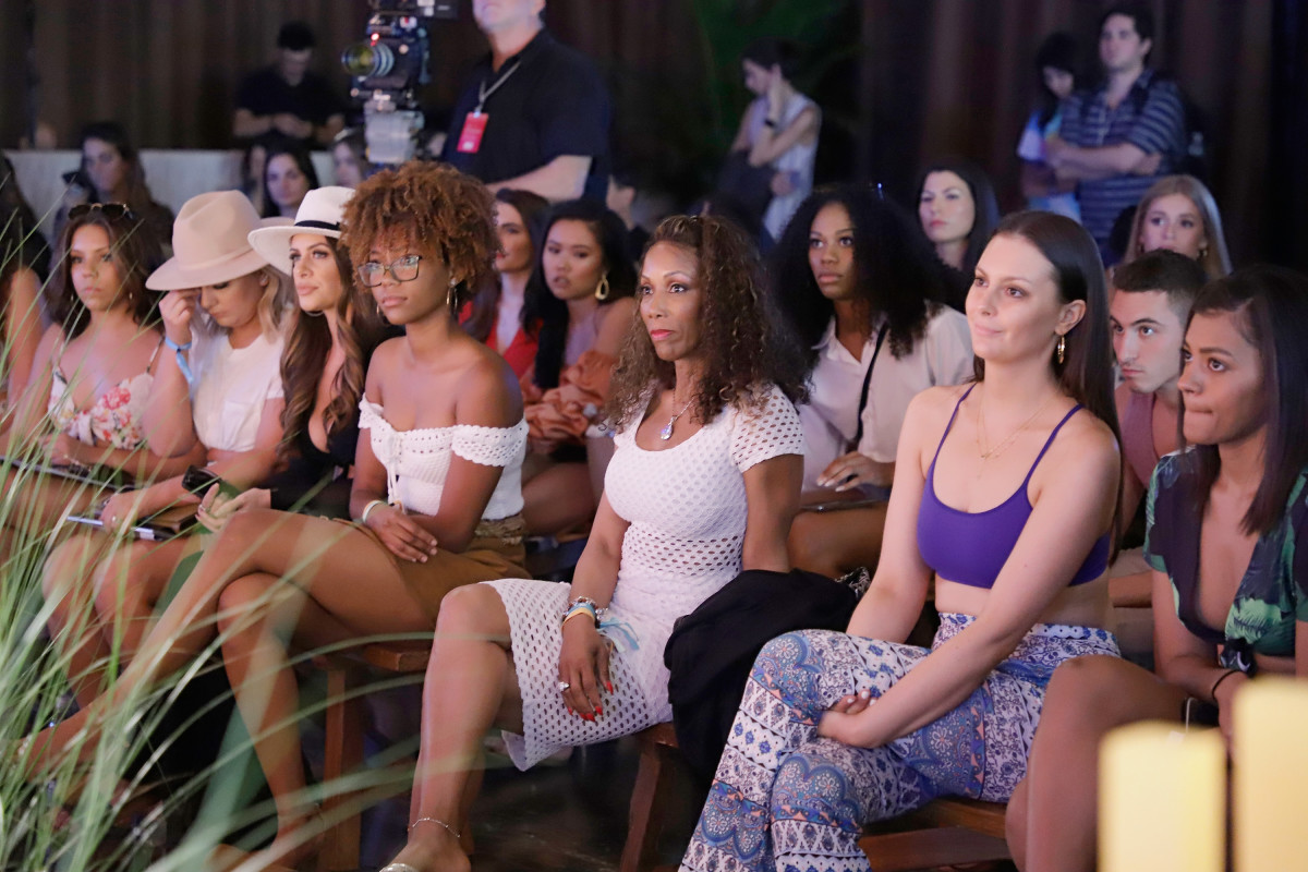 The audience during a panel at the Sports Illustrated Swimsuit On Location event in Miami, Florida. Photo: John Parra/Getty Images for Sports Illustrated