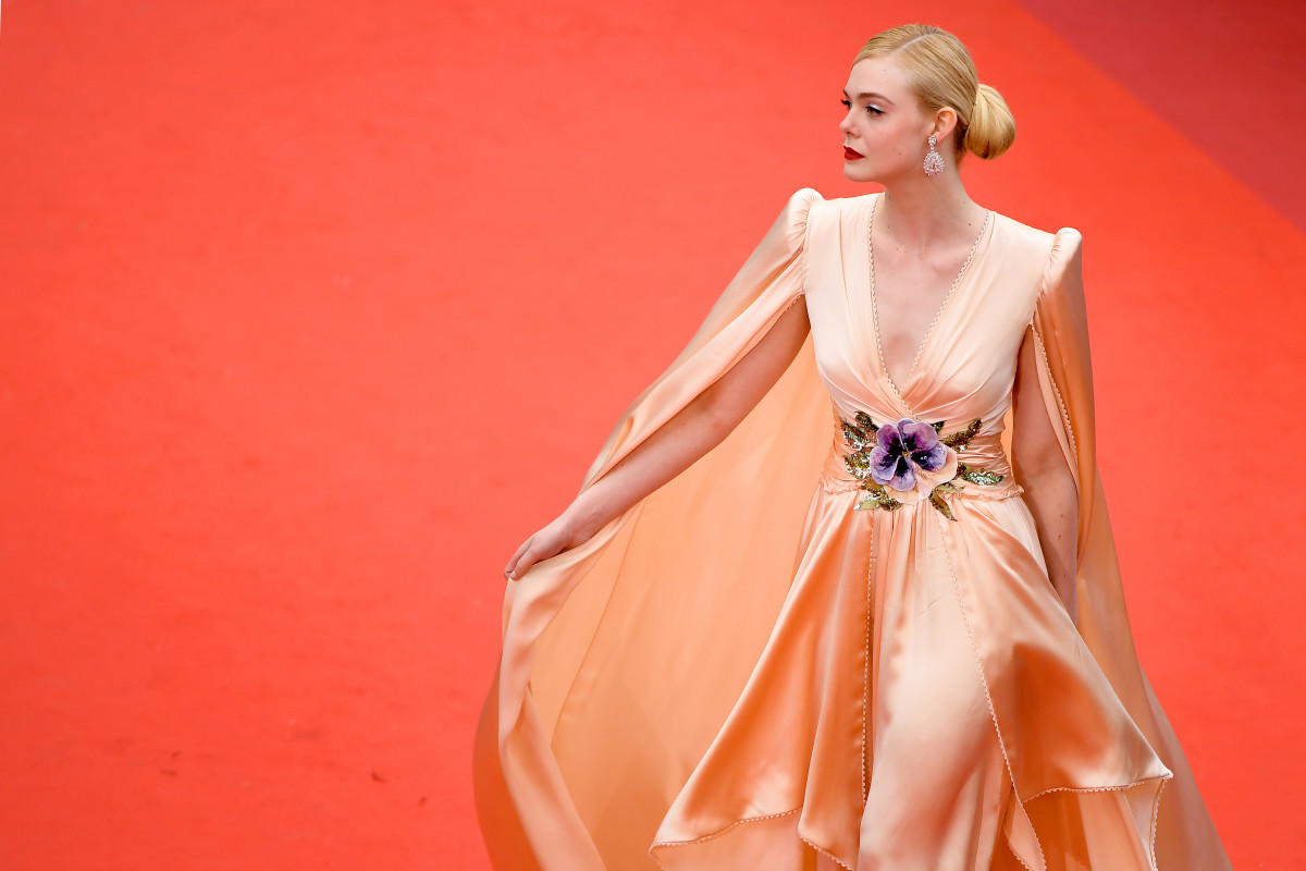 """Elle Fanning at the opening ceremony and screening of """"The Dead Don't Die"""" during the 72nd annual Cannes Film Festival. Photo: Matt Winkelmeyer/Getty Images"""