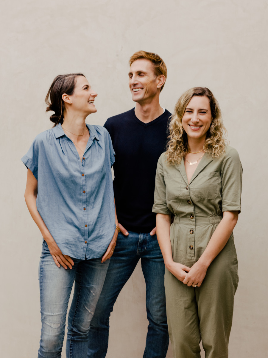 Founders Laurel Angelica Meyers, Christopher Gavigan and Jessica Assaf. Photo: Courtesy of Prima