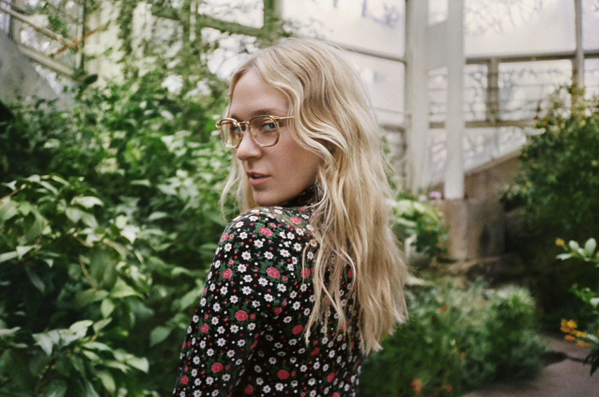 Warby Parker's Chloë Sevigny Crystal Overlay collaboration collection. Photo: Phillipe Cohen/Courtesy of Warby Parker