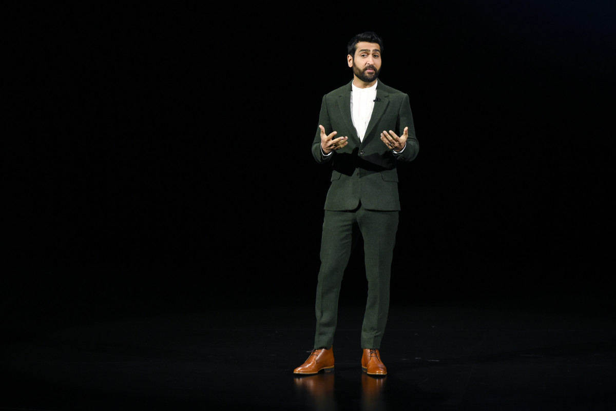 Kumail Nanjiani at the Apple product launch event in March. Photo: Michael Short/Getty Images