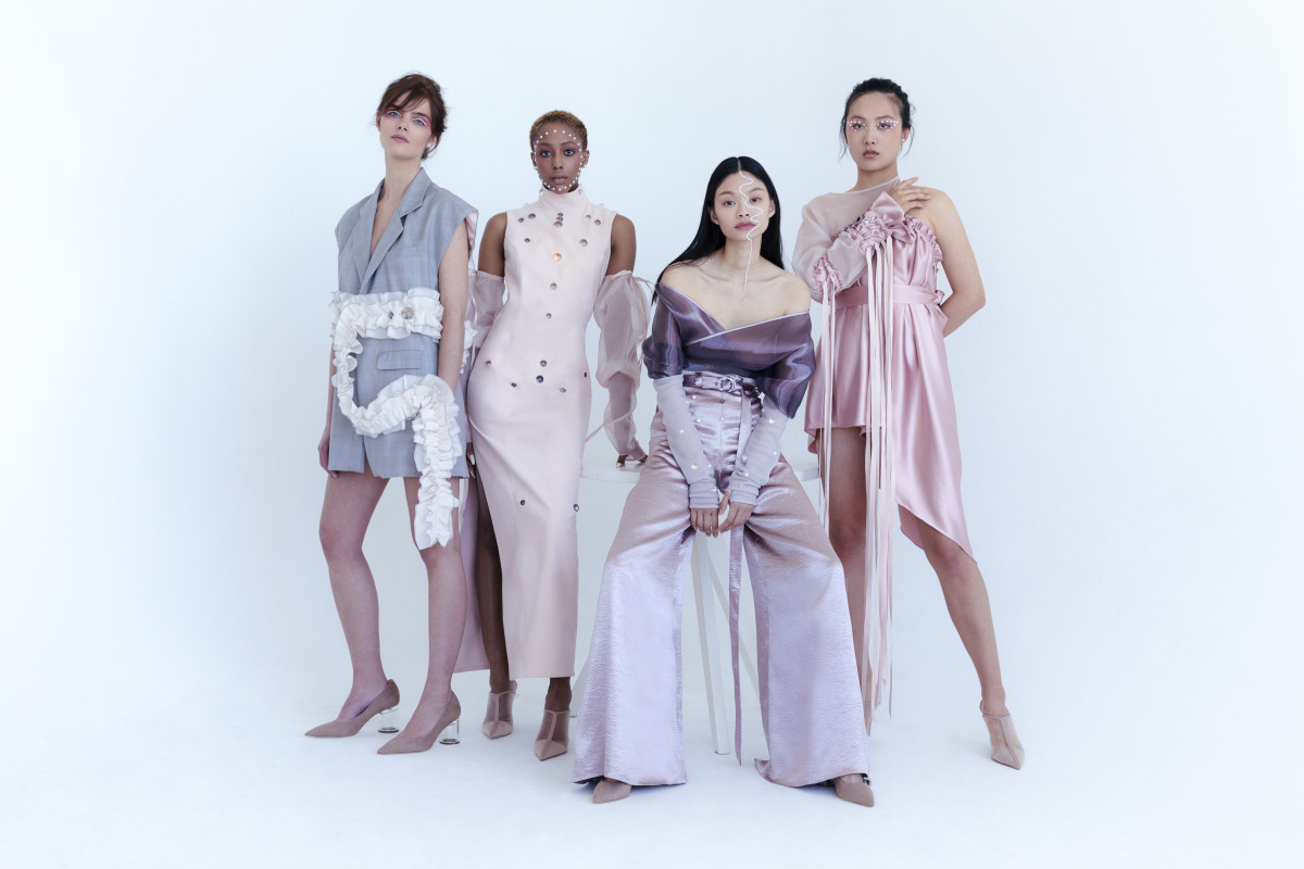 A look from Helena Wang's thesis collection. Photo: Courtesy of Helena Wang