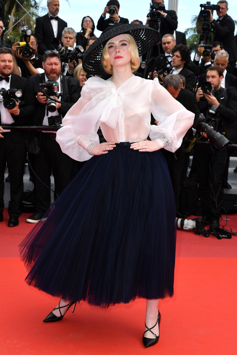 """Elle Fanning at the screening of """"Once Upon A Time In Hollywood"""" during the 72nd annual Cannes Film Festival. Photo: Pascal Le Segretain/Getty Images"""