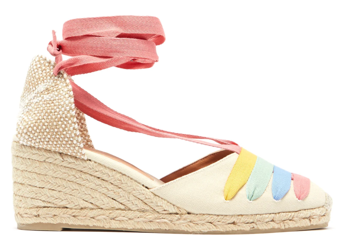 Castaner Clotilde 60 Canvas Espadrille Wedges, $145, available here.