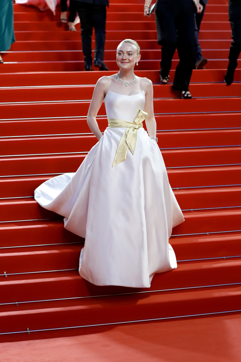 """Dakota Fanning at the screening of """"Once Upon A Time In Hollywood"""" during the 72nd annual Cannes Film Festival. Photo: John Phillips/Getty Images"""