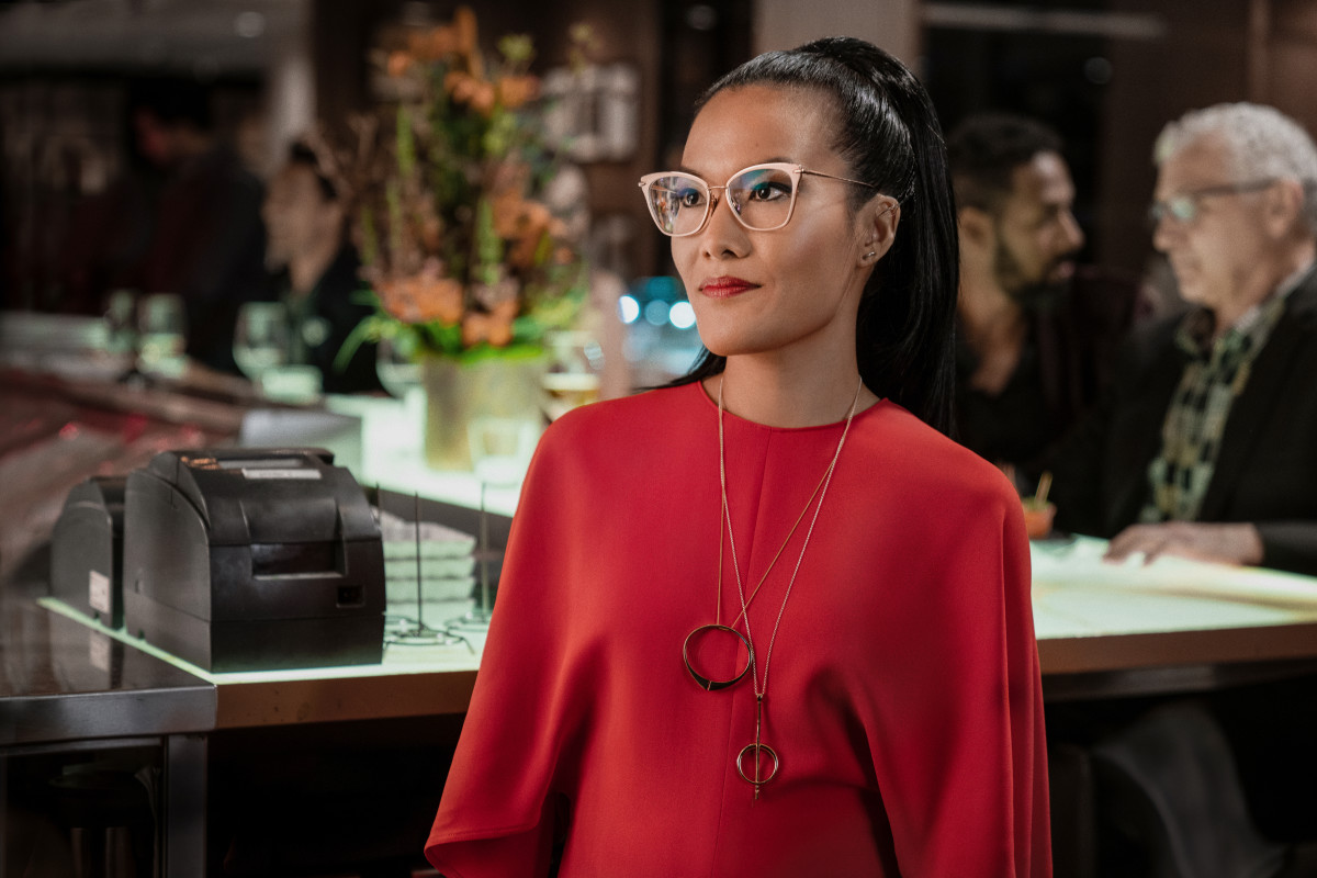Ali Wong Wears The Row, Isabel Marant and Michael Kors in