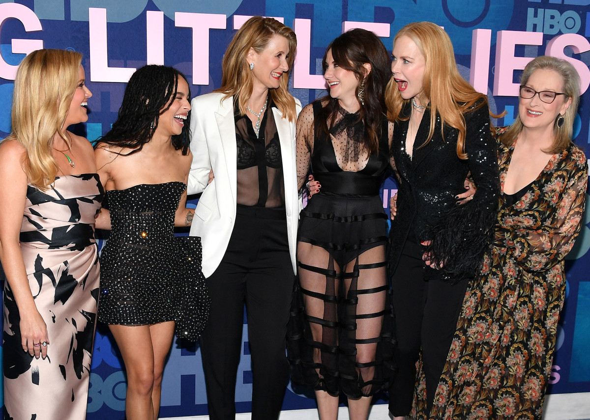 "The cast of ""Big Little Lies"" at the season two premiere in New York City. Photo: Dia Dipasupil/Getty Images"