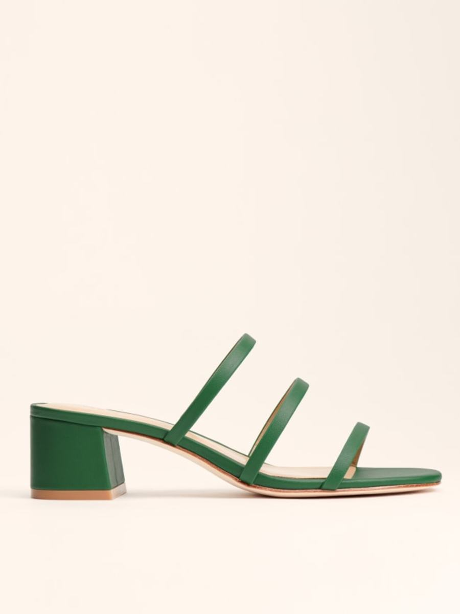 Reformation Menage Sandal, $198, available here. Photo: Courtesy