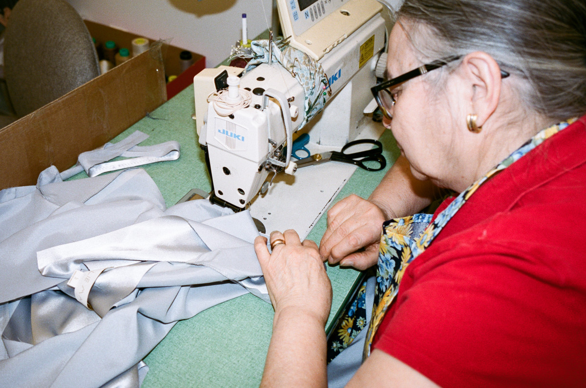 Ellie Mae Studios seamstress