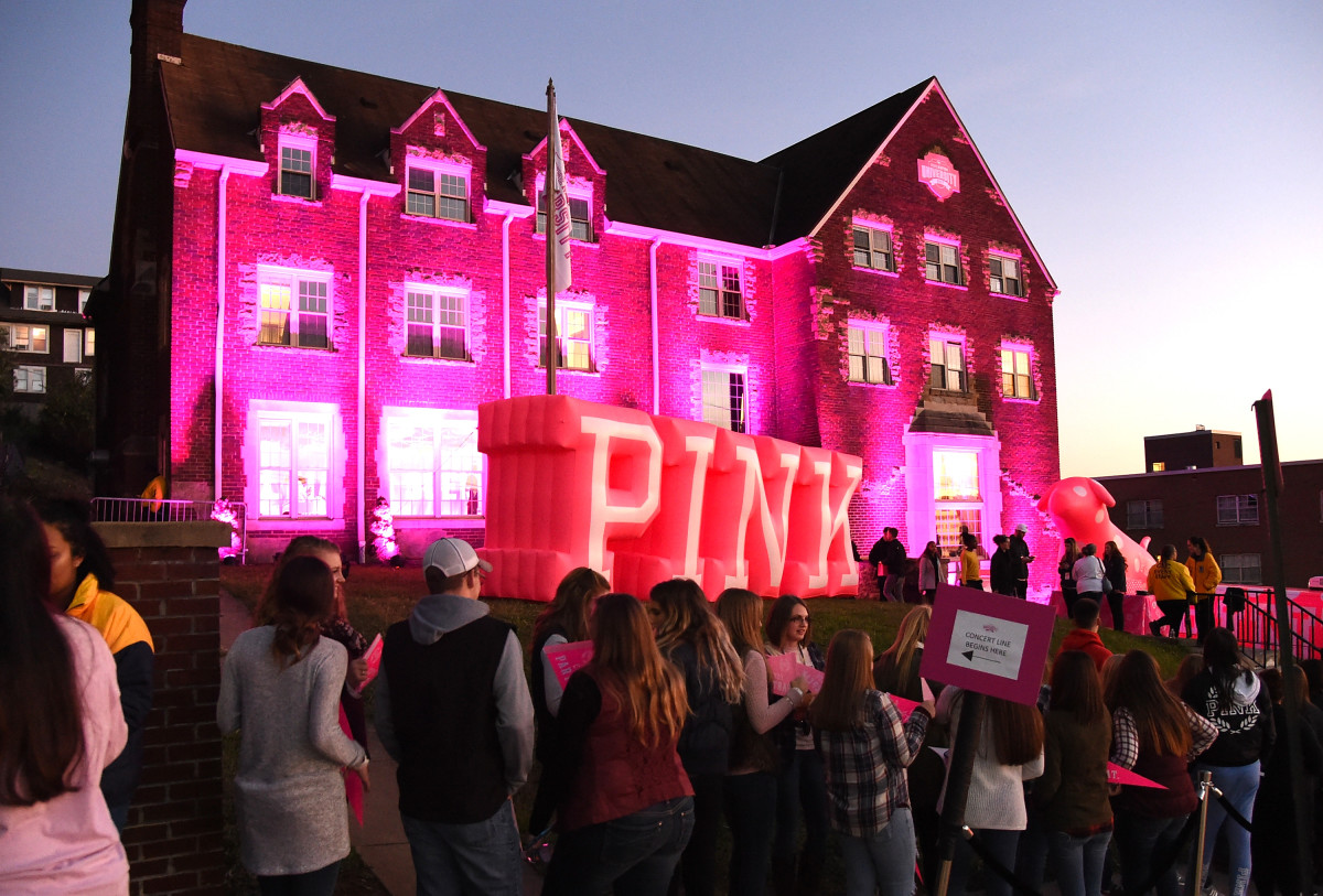 Victoria's Secret Pink hosts Pink Nation University at West Virginia University. Photo: Jason Merritt/Getty Images