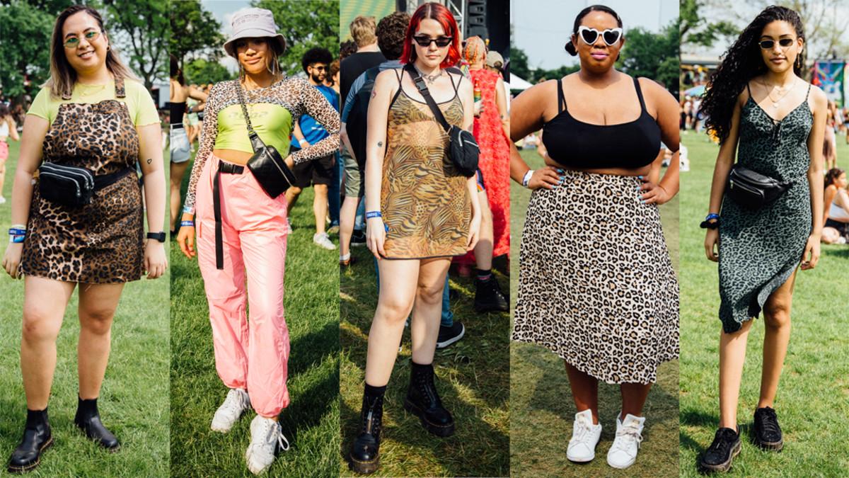 Street style at 2019 Govenors Ball. Photos: Emily Malan/Fashionista