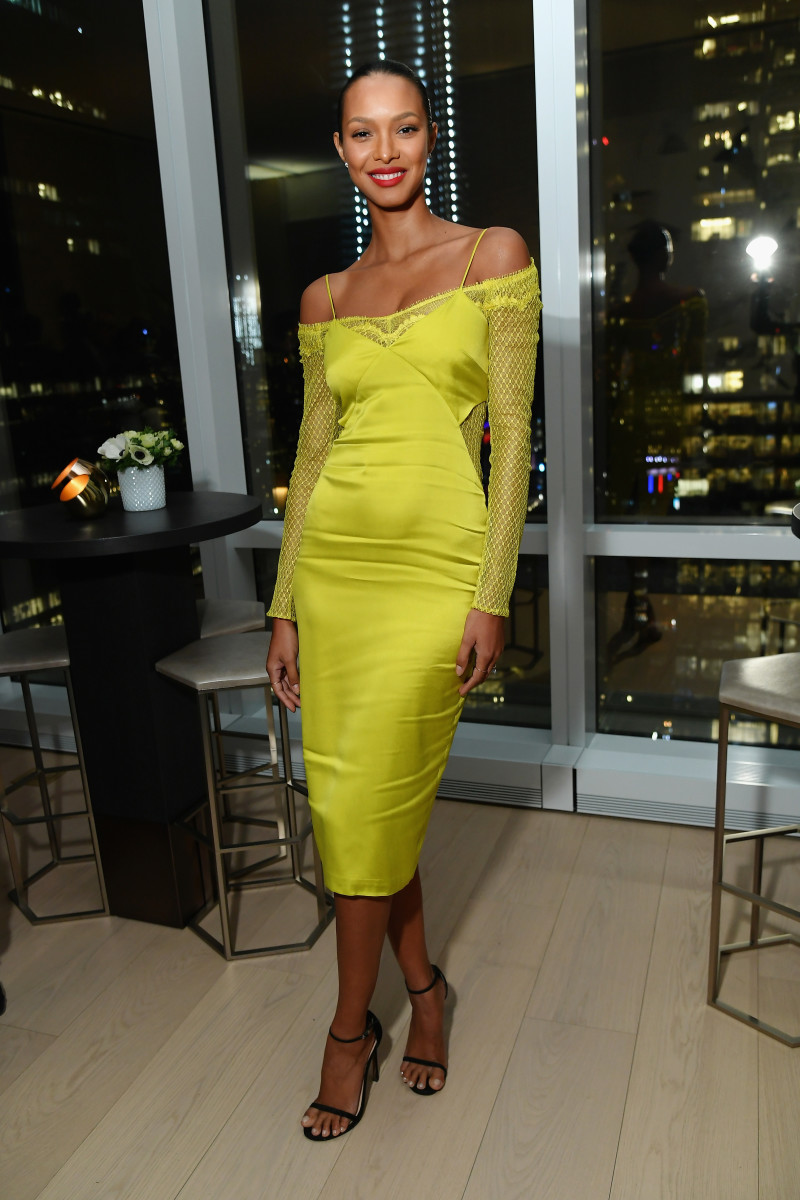 Ribeiro at an InStyle dinner celebrating the April 2019 issue. Photo: Mike Coppola/Getty Images for InStyle