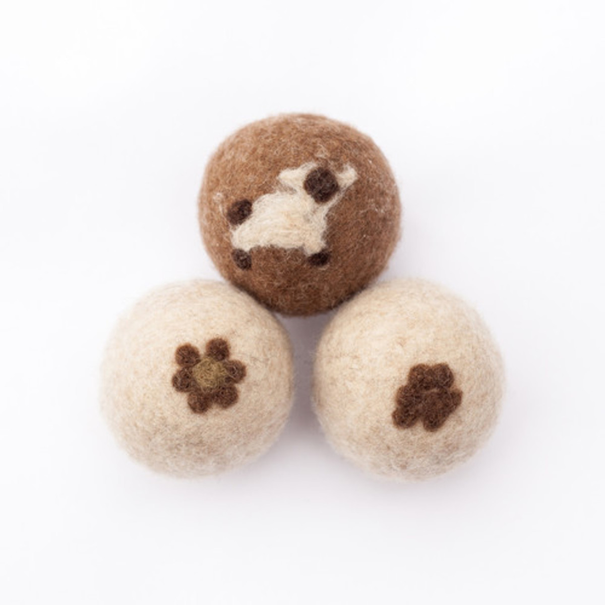 Sheep to Shop Wool Felt Dryer Balls, $33, available here.