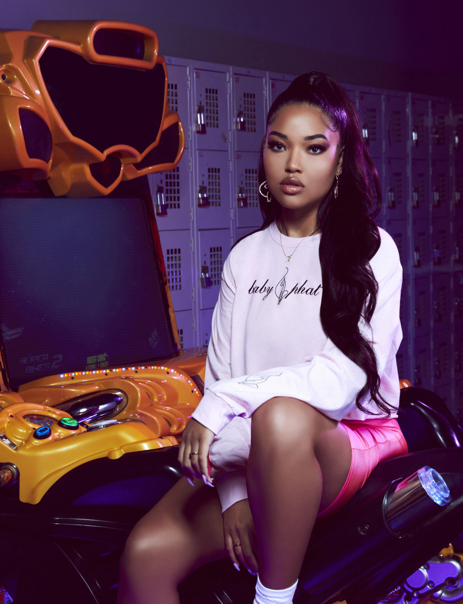 Ming Lee Simmons for Baby Phat x Forever 21. Photo: Courtesy of Baby Phat/Forever 21