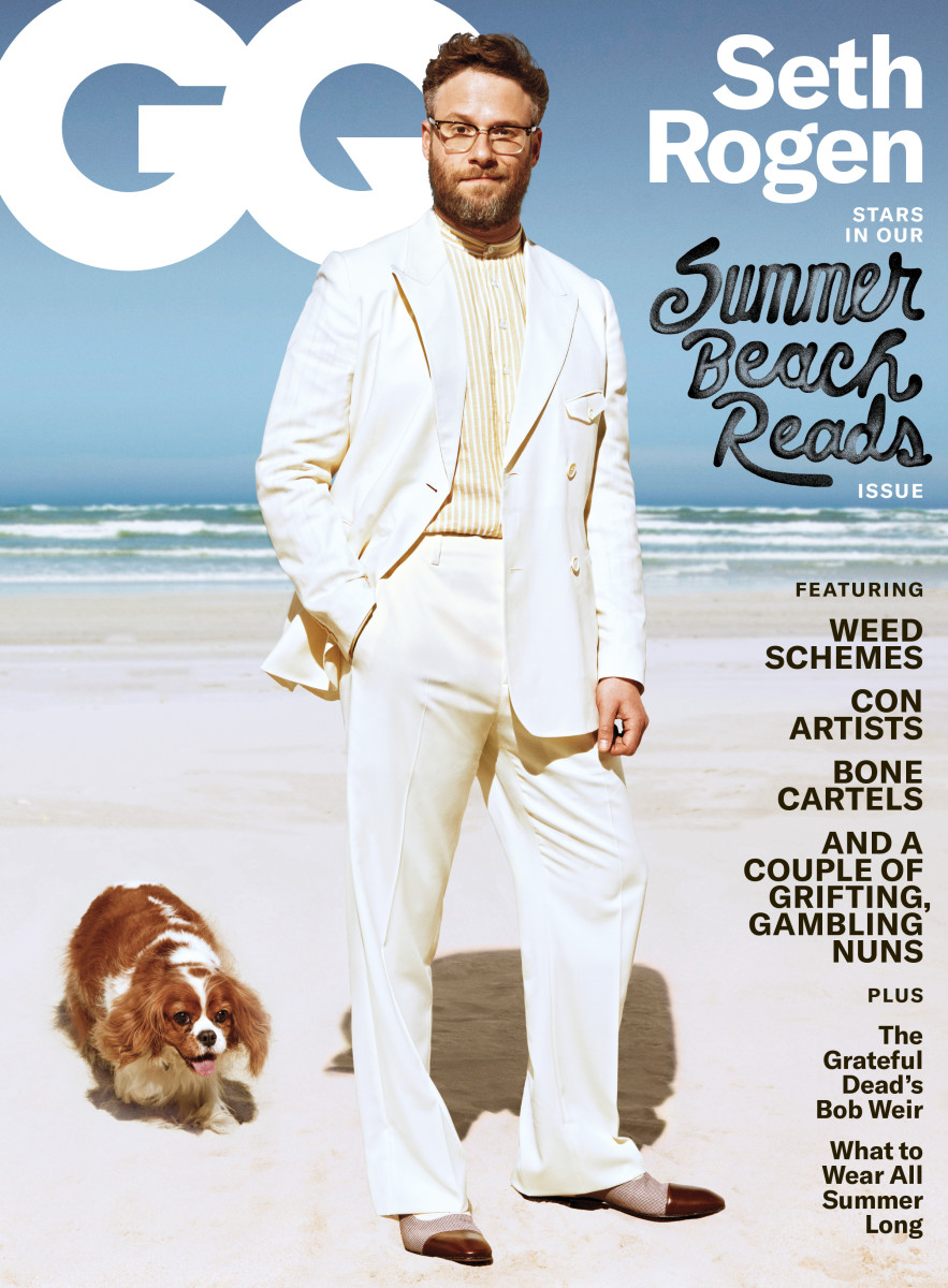 "Seth Rogan on the June/July 2019 cover of ""GQ."" Photo: Sebastian Mader/Courtesy of ""GQ"""