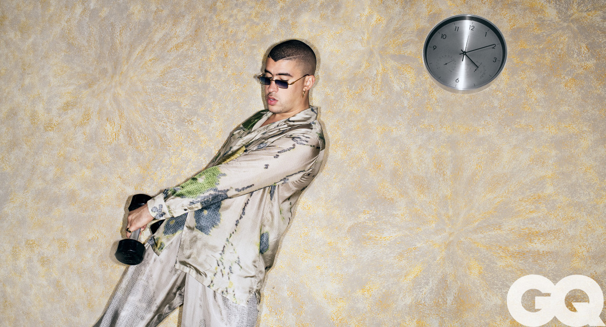 "Bad Bunny for ""GQ."" Photo: Jason Nocito/Courtesy of ""GQ"""