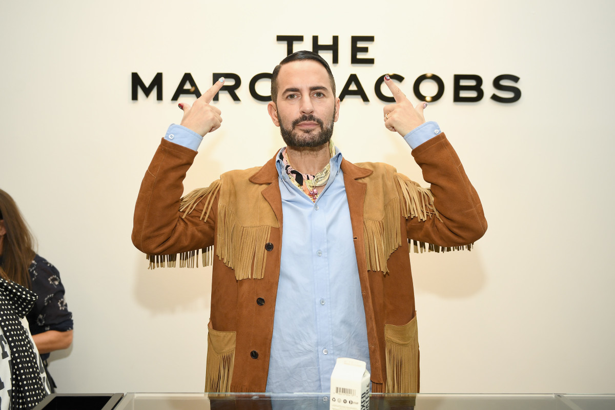 Marc Jacobs at The Marc Jacobs Soho block party at The Marc Jacobs store in New York City. Photo: Dimitrios Kambouris/Getty Images