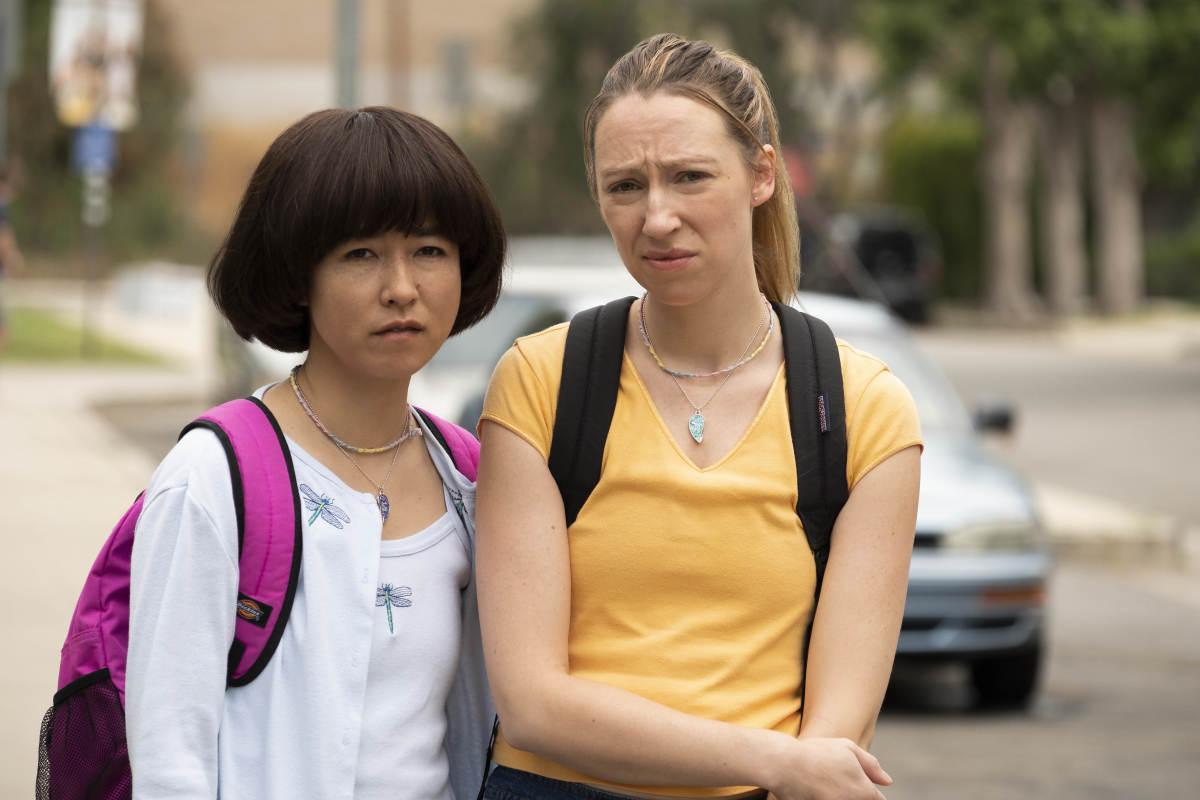 Maya (Maya Erskine) and Anna (Anna Konkle).Photo: Alex Lombardi/Courtesy of Hulu