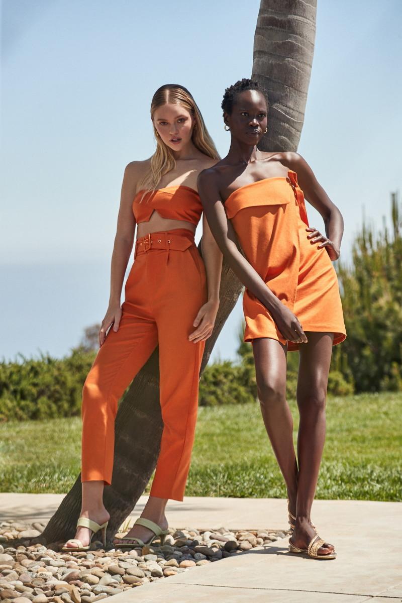 Looks from Camila Coelho's debut fashion line. Photo: Courtesy of Camila Coelho