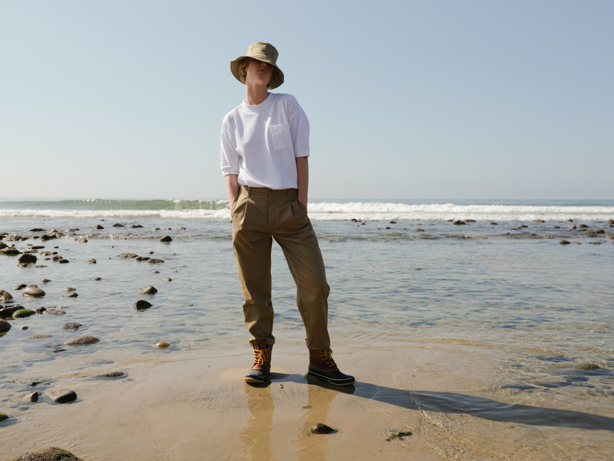 A look from the Dockers x Karla collection campaign. Photo: Matthew Welch