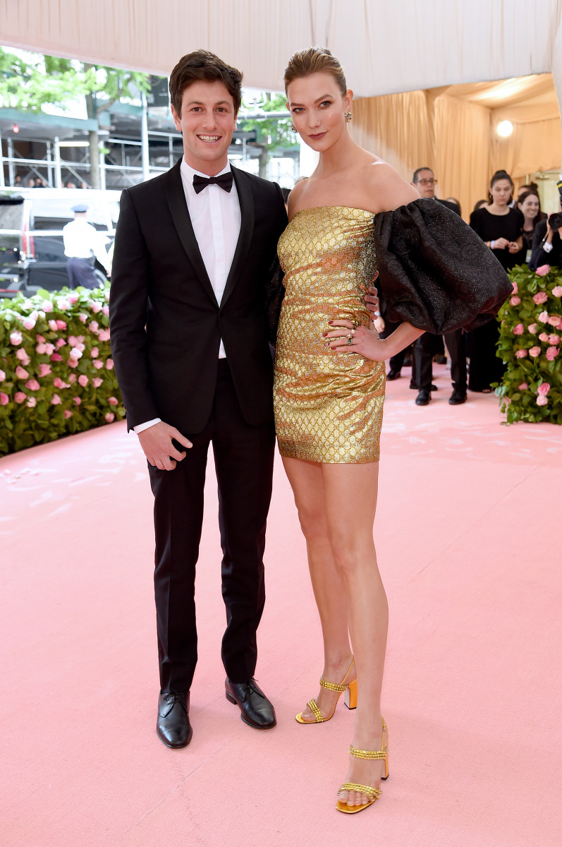 Joshua Kushner and Karlie Kloss. Photo: Jamie McCarthy/Getty Images