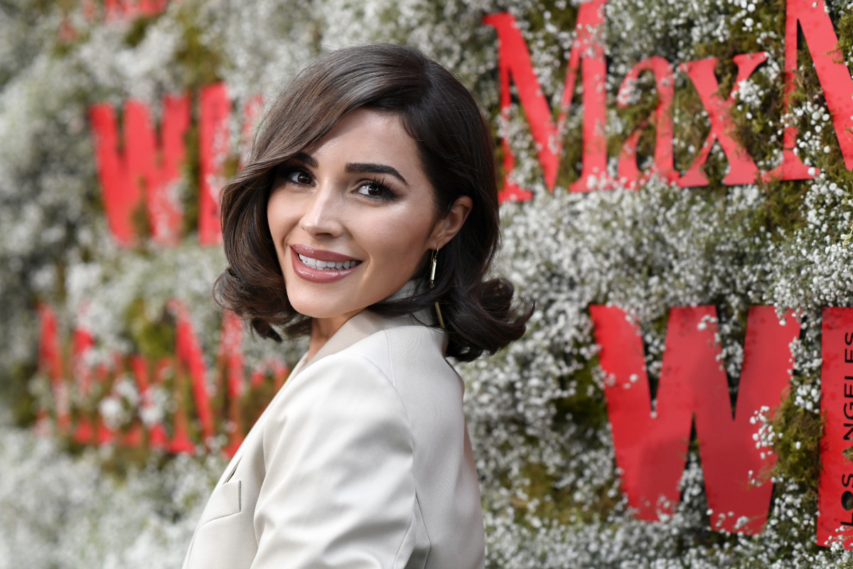 Olivia Culpo. Photo: Frazer Harrison/Getty Images for Max Mara