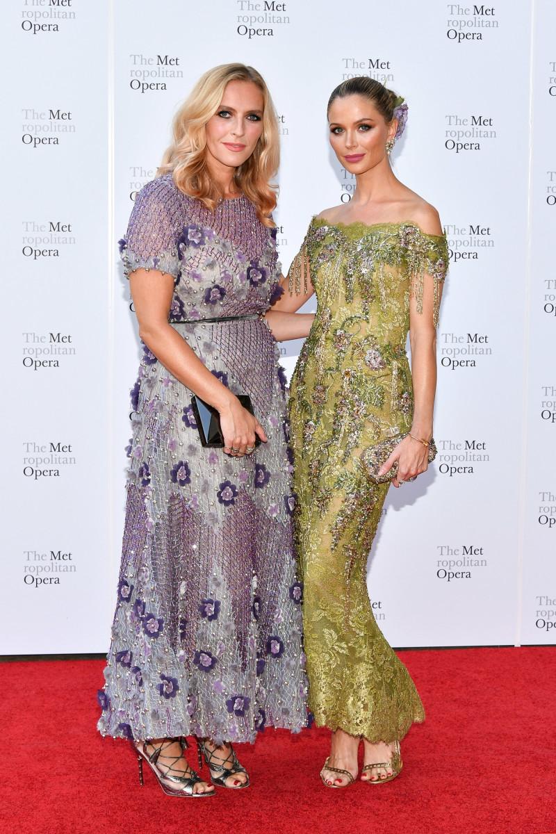 Keren Craig (L) and Georgina Chapman (R). Photo: Dia Dipasupil/Getty Images